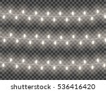 garlands  festive decorations.... | Shutterstock .eps vector #536416420