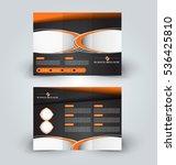brochure mock up design... | Shutterstock .eps vector #536425810