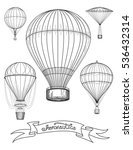 aeronautica poster design... | Shutterstock .eps vector #536432314