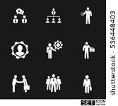 vector icons set   Shutterstock .eps vector #536448403