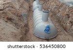 waste treatment tank   septic...