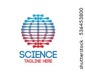 science laboratory logo | Shutterstock .eps vector #536453800