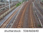 railroad tracks | Shutterstock . vector #536460640