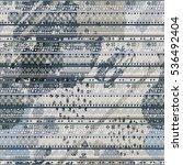abstract art seamless pattern.... | Shutterstock .eps vector #536492404