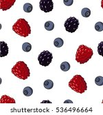 seamless vector pattern. wild... | Shutterstock .eps vector #536496664