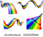 Abstract Rainbow Collection