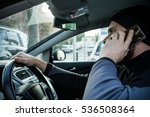 traffic offense man with... | Shutterstock . vector #536508364