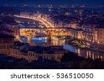 Ponte Vecchio In Florence ...