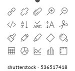 edit text pixel perfect well... | Shutterstock .eps vector #536517418