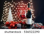 christmas and new year. festive ... | Shutterstock . vector #536522290