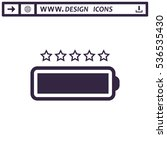 battery icon vector flat design ...