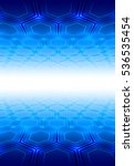perspective blue background.... | Shutterstock . vector #536535454
