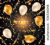 celebration party background... | Shutterstock .eps vector #536536048