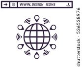 mark icon vector flat design...