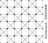 vector seamless pattern. modern ... | Shutterstock .eps vector #536543848