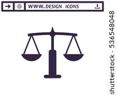 balance icon vector flat design ...