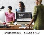 blog content homepage internet... | Shutterstock . vector #536555710