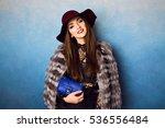 close up studio fashion... | Shutterstock . vector #536556484