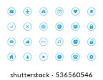 simple infographic icons set  ...   Shutterstock .eps vector #536560546