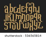 vector alphabet set. lowercase... | Shutterstock .eps vector #536565814