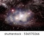 stars of a planet and galaxy in ... | Shutterstock . vector #536570266