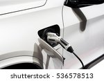 power supply  electric car... | Shutterstock . vector #536578513