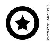 star icon illustration design | Shutterstock .eps vector #536581474
