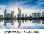 ho chi minh city  vietnam   dec ... | Shutterstock . vector #536583088