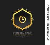 vector letter o business luxury ...   Shutterstock .eps vector #536583820