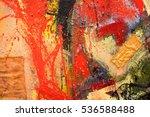 abstract art background. oil... | Shutterstock . vector #536588488