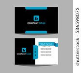 id card and business card | Shutterstock .eps vector #536598073