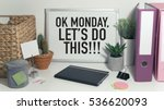 monday motivation concept in... | Shutterstock . vector #536620093