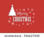 merry christmas. festive... | Shutterstock .eps vector #536627434