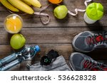 everything needed for healthy... | Shutterstock . vector #536628328