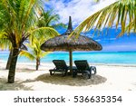 tropical relaxing vacation.... | Shutterstock . vector #536635354