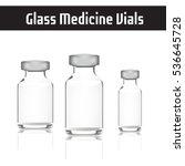Glass Medicine Vials. Botox....