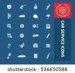 car service and repair icon... | Shutterstock .eps vector #536650588