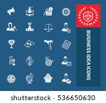business icon set vector | Shutterstock .eps vector #536650630