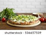 Vegetarian Italian Pizza With...