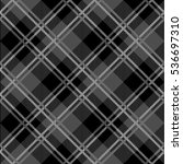 tartan seamless vector patterns ... | Shutterstock .eps vector #536697310