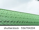 Green Roof.green Tile Roof For...