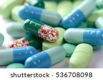 pills background | Shutterstock . vector #536708098