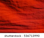 Stock photo strip of red cloth 536713990