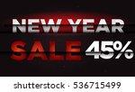 new year sale . big winter sale ...   Shutterstock .eps vector #536715499
