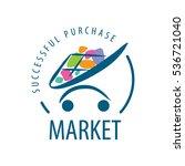 vector logo market | Shutterstock .eps vector #536721040