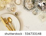 modern and elegant new year's... | Shutterstock . vector #536733148
