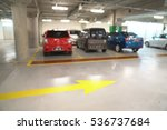 blur parking slot   abstract... | Shutterstock . vector #536737684