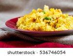 homemade chinese fried rice... | Shutterstock . vector #536746054