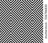 vector seamless pattern.... | Shutterstock .eps vector #536786830