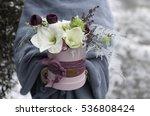 beautiful floral arrangement in ...   Shutterstock . vector #536808424